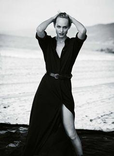 Amber Valletta for Zeit Magazine by Peter Lindbergh, 2015