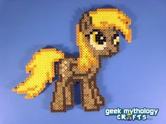 Derpy Hooves My Little Pony Friendship is Magic - Perler Bead Sprite
