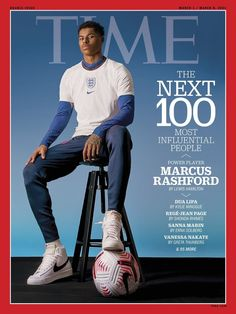 Marcus Rashford has been named in TIME magazine's The Next 100 Most Influential People 👏 Feeling Scared, How Are You Feeling, Kyle Minogue, Marcus Rashford, Power To The People, Influential People, Vintage Cookbooks, Lewis Hamilton