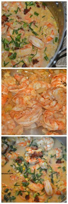 Shrimp Corn Chowder - Hugs and Cookies XOXO