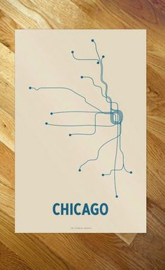 "Cayla Ferari and John Breznicky ""Lineposters"" depicting subway lines of different cities"