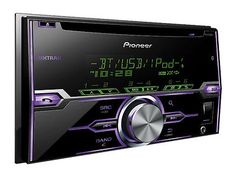 PIONEER FH-X720BT 2-Din CD/MP3/USB Car Audio Stereo w/ Bluetooth 88493825667
