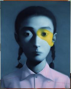 #ARTIST Zhang Xiaogang - Untitled, 2006.