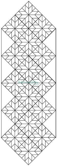 Dining with the Stars table runner pattern from quiltworx Star Quilts, Mini Quilts, Quilt Blocks, Table Runner And Placemats, Quilted Table Runners, Patchwork Quilting, Quilting Templates, Quilting Tutorials, Skinny Quilts