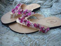 Handmade Shoes by Elizabeth: Χειροποίητα Σανδάλια|Ancient Greek Sandals 2012