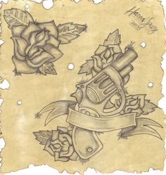 Google Image Result for http://th09.deviantart.net/fs70/PRE/i/2011/030/c/8/rose_gun_tattoo_by_inkie_girl-d38dz63.jpg