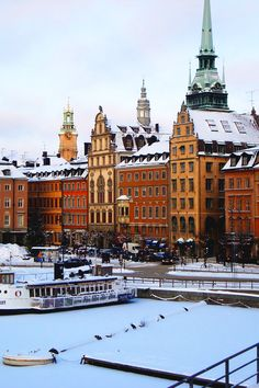 Insight's travel guide to Sweden's features, along with Stockholm and of course the Arctic, Sweden would be the ideal place for everyone who enjoys the great outdoors . Oh The Places You'll Go, Places To Travel, Places To Visit, Sweden Stockholm, Stockholm Winter, Stockholm City, Voyage Suede, Kingdom Of Sweden, Scandinavian Countries
