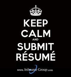 Submit your résumé at www.insourcegroup.com/submit-resume & let our IT recruiters and Account Manager find the perfect job for you today!