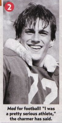 Jon Hamm in High School. #madmen