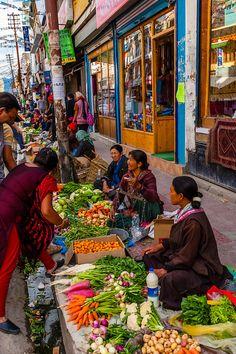 Main Bazaar Road, Old Leh, Ladakh, Jammu and Kashmir
