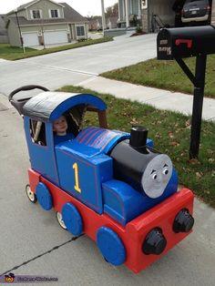 Thomas the Train & Driver - 2012 Halloween Costume Contest