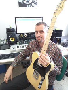 With my new Fender Telecaster, Marilyn! Fender Telecaster, Music Instruments, Guitar, Musical Instruments, Guitars