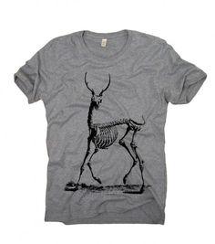 moda - t-shirty - męskie-Oh Deer - organic t-shirt