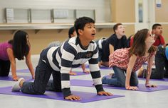This month is Autism Awareness month. Learn how one yoga teacher is changing the lives of children coping with the challenges of autism through yoga.