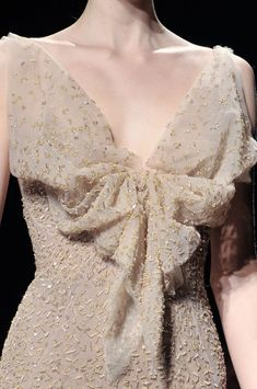 Donna Karan Fall 2011 - Details, especially like the bow in front, add a nice touch