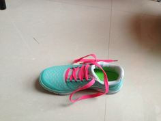 Nike Free 3.0 V4 Pink And Blue