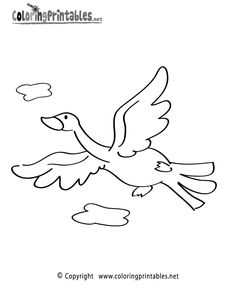 Bird Coloring Page - A Free Animal Coloring Printable Bird Coloring Pages, Bugs, Printables, Prints, Free, Animals, Animales, Animaux, Beetle