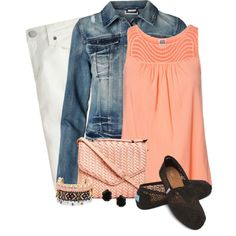A fashion look from August 2014 featuring Vero Moda blouses, Vero Moda jackets and J. Browse and shop related looks. Modern Fashion, Fashion Beauty, Autumn Fashion, Fashion Looks, Casual Wear, Casual Outfits, Cute Outfits, Fashion Outfits, J Crew Jeans