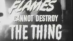4eedab7b57 1951 THE THING FROM ANOTHER WORLD TRAILER - Science-fiction classic - video  dailymotion