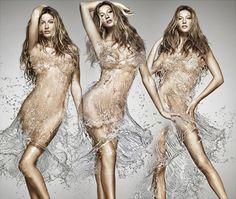 15 Examples of Water Art That's Simply Splashing! - My Modern Metropolis   Gisele's Water Dress