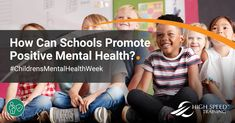 For we're looking at promoting positive mental health in schools. Find ideas you can easily add to the school routine, here. Mental Health In Schools, Children's Mental Health Week, Positive Mental Health, Mental Health Problems, Mental Health Awareness, School Staff, School Teacher, School Routines, Awareness Campaign