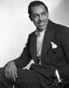 """Cab Calloway appeared with Lena Horne and Bill Robinson in """"Stormy Weather"""" 1943 Jazz singer bandleader, great talent and performer. Hollywood Stars, Classic Hollywood, Old Hollywood, Black Actors, Black Celebrities, Lena Horne, Jazz Blues, Popular Music, Black People"""