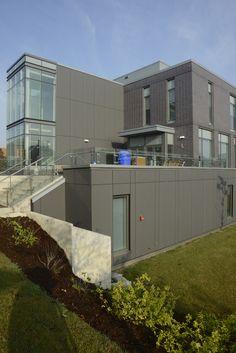 Humber College Toronto. HOK architects. EQUITONE [natura] N251 facade panels. equitone.com.