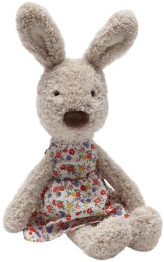 Floral Isabella Bunny is a charming Jellycat plush that's ready for Summer!  Visit her page at TheArkToys.com to  learn more about her.
