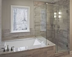 If you are looking for Master Bathroom Bathtub Remodel Ideas, You come to the right place. Below are the Master Bathroom Bathtub Remodel Ideas. Bathroom Renos, Bathroom Interior, Bathroom Ideas, Bathroom Remodeling, Bathroom Makeovers, Shower Ideas, Remodeling Ideas, Bathroom Organization, Bathroom Cabinets
