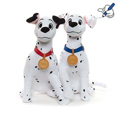 Pongo and Perdita are ready to protect their pack from any dognappers, whilst having a little tail-wagging fun in their gleaming white spotty coats! These soft toys have name tags that glisten and smart collars. Disney Stuffed Animals, Cute Stuffed Animals, Disney Babys, Baby Disney, African Jungle Animals, Pongo And Perdita, Dog Room Decor, Minnie Mouse Toys, Baby Doll Nursery