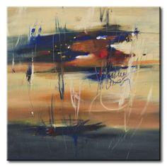 32_CI018_A _ October Dream / Cuadro Abstracto, Manchas de Color