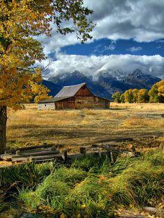 Moulton Barn, Mormon Row (Grand Teton National Park, Wyoming)