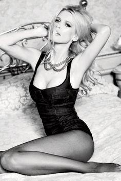Claudia Schifferfor Guess' 30th Anniversary campaign by Ellen von Unwerth.