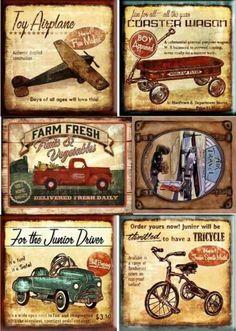 vintage decoupage 39 little bi Decoupage Vintage, Decoupage Paper, Vintage Diy, Vintage Labels, Vintage Ephemera, Vintage Cards, Vintage Signs, Vintage Paper Crafts, Vintage Coke