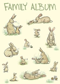 The Potting Shed - A Greeting card by Anita Jeram for Two Bad Mice. Two Bad Mice have a wide range of cards and ceramics suitable as gifts for Rabbit Lovers Visit www.twobadmice.com
