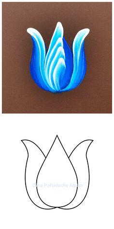 Atelier Gina Pafiadache: Tulipa em Bauernmalerei