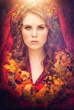 Die rote Priesterin by Laura Helena Rubahn on 500px