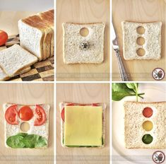 Stop Light Sandwich for those packed lunches. #healthyideas