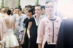 Cool Chic Style Fashion: CHANEL Spring/Summer 2012 backstage