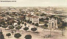 1910 - Av Afonso Pena - Igreja São José Belo Horizonte