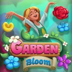 Free Match-3 Browser Game - Begin your adventure in the world of Garden Bloom, a colorful match 3 puzzle game. Match 3 Games, Princess Peach, Up Game, Bloom, Free Match, Birthday, Puzzle, Colorful, Adventure