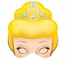 Cinderella Free Printable Masks.