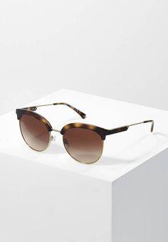 Emporio Armani. Occhiali da sole - havana. Portaocchiali:Custodia rigida. Forma occhiali:Farfalla. Protezione UV:Sì. Astine:14 cm nella taglia 54. Ponte:2 cm nella taglia 54. Larghezza:14 cm nella taglia 54. Fantasia:sfumato