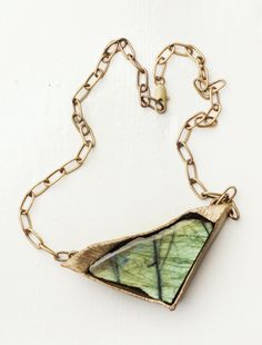 LABRADORITE necklace by Debra Baxter on cisthene.com