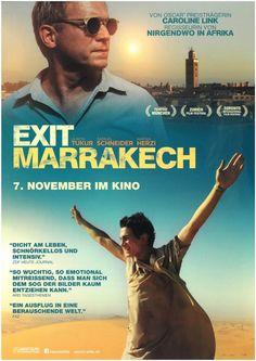 EXIT MARRAKECH - 2013 - ULRICH TUKUR - SAMUEL SCHNEIDER - ORIGINAL FILMPOSTER A4
