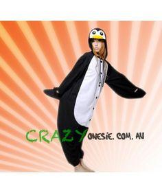 Penguin Adult Onesie Hooded Unisex Pajamas Different Styles, Penguins, Hoods, Onesies, Pajamas, Unisex, Pjs, Cowls, Pajama