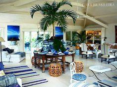 Sala do arquiteto Sig Bergamin. Foto: Reprodução/Casa Brasileira