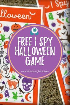 Kids love Halloween. The candy and costumes are so fun. And this I Spy Halloween is a fun addition to our Halloween parties and play dates. #Halloween #HalloweenPrintables #ISpyPrintables #HalloweenGame #HalloweenIdeas #FreeHalloweenPrintables Halloween Parties, Halloween Games, Party Printables, Free Printables, Really Fun Games, Sunday Activities, I Spy Games, Fhe Lessons, Party And Play