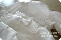 Incredible service project to sew Bereavement Gowns for Angel babies. Includes link to patterns