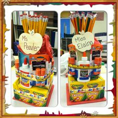Back to school Supplies Cakes